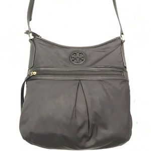 Tory Burch Black Nylon Swingpack Crossbody Bag